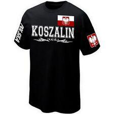 T-Shirt KOSZALIN POLSKA POLOGNE POLAND - ★★★★★★