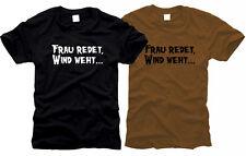 La Sra. habla, sopla el viento... - t-shirt, talla s hasta XXXL