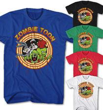 ★Herren T-shirt Looney Zombie Dead Bunny Tunes Daffy Cartoon Movie Neu ZT25215★