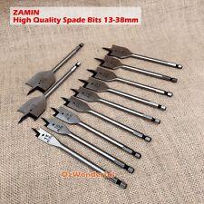 Zamin FLAT WOOD BORING SPADE DRILL BITS Metric 13 16 19 20 22 24 25 28 32 35 38