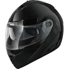 Shark Openline - Flip up Motorcycle Helmet - Gloss Black ( NO PINLOCK INSERT)