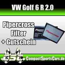 VW Golf 6/VI R 2.0 |270PS| Pipercross Sportluftfilter/Tauschfilter