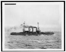 Photo of U S S Louisiana 1902 Detriot Publishing co. 13a