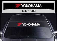 Yokohama sunstrip sticker decal SS108