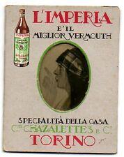 L' lMPERIA VERMOUTH  CHAZALETTES & C TORINO VINO LIQUORE DISTILLERIA