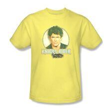 Knight Rider T-shirt Free Shipping 1980's Hasselhoff K.I.T.T. cotton tee NBC494