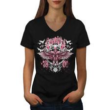 Beautiful Angel Hell Women V-Neck T-shirt NEW   Wellcoda