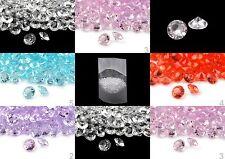 6mm x 620Stück Deko Diamanten Dekosteine Tischdeko Streudeko Hochzeit Kommunion