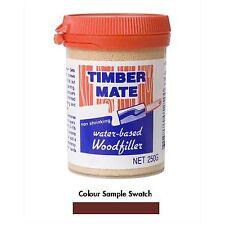Timbermate WOOD FILLER Water Based JARRAH *Australian Brand - 250g, 500g Or 2Kg