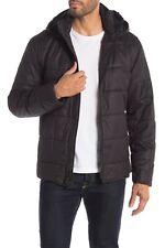 John Varvatos Star USA Men's Black Quilted Puffer Hood Jacket $598