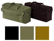 "Long Strong Canvas Bag 17.5"" x 9.5"" x 6.5"" Jumbo Heavy-Duty Work Mechanics Tool"