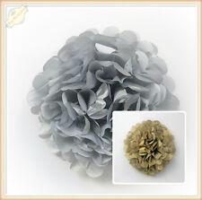 Gold Silver Tissue Paper Pom Poms Honeycomb Balls Wedding Party Lantern Decor AU