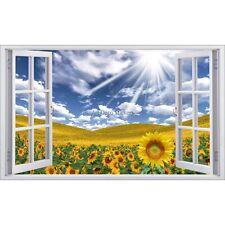 Adesivo finestra decocrazione Girasoli ref 5396 5396