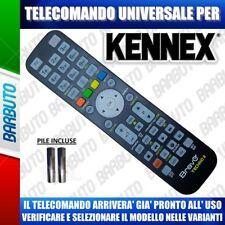 TELECOMANDO UNIVERSALE KENNEX, CLICCA IL TUO MODELLO LO RICEVERAI GIA PRONTO