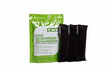 Ever Bamboo Mini Deodorizer & Dehumidifier Bag Set w/ Natural Bamboo Charcoal