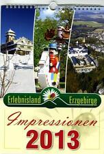"Kalender ""Erlebnisland Erzgebirge 2013"" - Wandkalender mit Ringbindung"