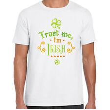 Trust moi I'm IRLANDAIS - T-shirt chemise - Jour de la St Patrick cadeau