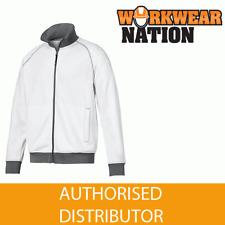 Snickers 2821 Full Zip Work Sweatshirt Jacket, WHITE