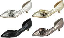 Mujer f9784 Zapatos de salón tacón bajo de Savannah OFERTA COSTABA Ahora