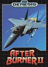After Burner 2 II (Sega Genesis, 1990) Complete in Case