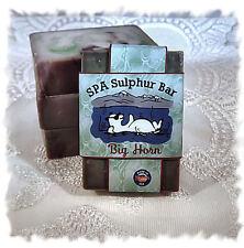 Balsam Cedar_Big Horn SPA Sulphur Mineral Soap Made in Montana Handmade Natural