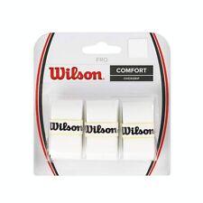 WILSON PRO overgrip confezione 3 (disponibile in: BIANCO, GIALLO, Lime verde, rosa e arancione)