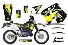 AMR RACING GRAPHIC KIT STICKER MOTO DECAL SUZUKI RMX 250S 96,97,98 TRIBAL FLAME