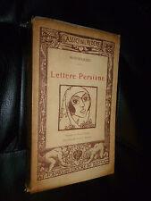 MONTESQUIEU- LETTERE PERSIANE -FORMIGGINI 1922 - XILOGRAFIE DI SENSANI
