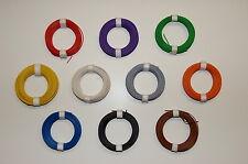 (0,159€/m) - 1 Rolle Kupferlitze - Litze 0,14mm² - 10m - Farbe nach Wahl