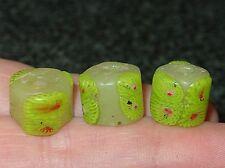 Antique Venetian Millefiori Beads Onionskin Glass Cane Inserts African Trade