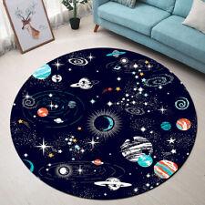 Cartoon Cosmic Planets Home Area Rugs Living Room Yoga Carpet Bedroom Floor Mat
