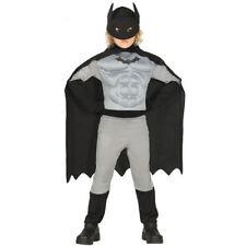 COSTUME BATMAN CARNEVALE BAMBINO VESTITO GUIRCA SUPEREROE BLACK HERO PIPISTRELLO