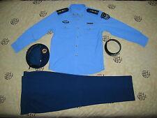 Obsolete 07's China PLA Air Force Man Officer Summer Long-sleeved Uniform,Set