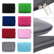 """Ordinateur portable Sac Cas 11 """"13"""" 14 """"15"""" pouces Zipper Souple Manches Housse"""