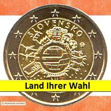 € MONETE speciali: 2 euro moneta da 2012 10 anni € contanti due € Moneta speciale 1 da 21