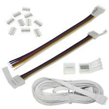Accesorios para RGBW+WW CCT LED Strip - Conector, Distribuidor, Extensión