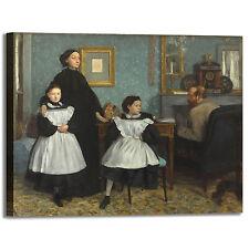 Degas famiglia Bellelli design quadro stampa tela dipinto telaio arredo casa