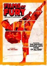 Films of Fury: The Kung-Fu Movie Movie (DVD, 2012)  Jackie Chan, Jet Li...
