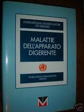 MALATTIE DELL' APPARATO DIGERENTE WORLD HEALTH