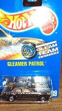 MATTEL HOT WHEELS 1991 ISSUE #189 GLEAMER PATROL CHROME GLEAM TEAM BLISTER