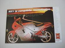 advertising Pubblicità 1988 MOTO GILERA MX-1 MX 1 MX1 125