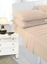 "Latte Bunk Bed Fitted Sheet Caravan Campervan 2ft 6"" (76cm x 190cm) Small Bed"