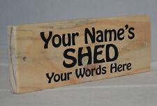 Personalised Sign Plaque Shed Garden Garage Door Greenhouse Allotment Workshop