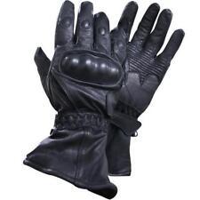 Xelement XG815 Men's Black Leather Motorcycle Winter Gloves