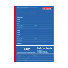 TOP-Angebot - herlitz Fahrtenbuch 602 A5 32 Blatt mit Abrechnungstabelle