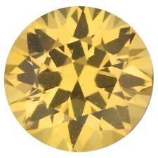 Natural Fine Intense Yellow Sapphire - Round - East Africa - AAA Grade
