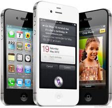Apple iPhone 4S 8 16 32 64GB EE 02 3 Unlocked Smartphone Excellent Mobile Black