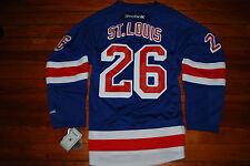 NEW #26 Martin St. Louis New York Rangers On Field Reebok Jersey (Large X-Large)