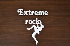 52.5cm EXTREME Rock Climber Arrampicata Adesivo Decalcomania salita alpinismo