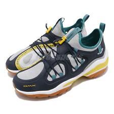 Reebok DMX Series 2000 Navy Grey Yellow Mist Gum Men Slip On Shoe Sneaker CN7871